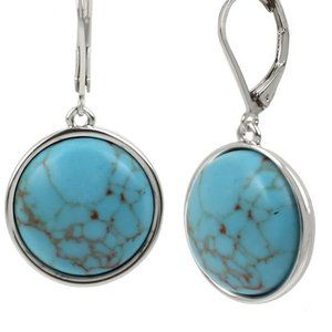 Kenneth Cole New York Cabochon Drop Earrings  NWT